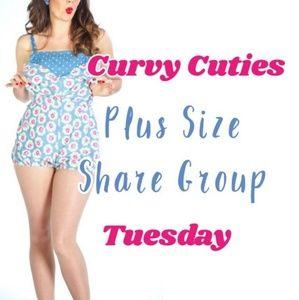 7/23 PLUS SHARE GROUP: Curvy Cuties